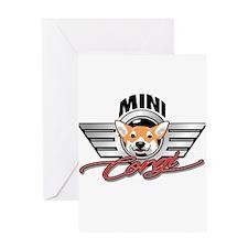 Mini Corgi Club Greeting Cards