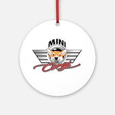 Mini Corgi Club Ornament (Round)