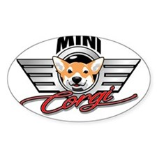 Mini Corgi Club Decal