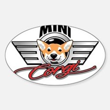 Mini Corgi Club Decal