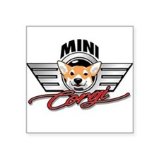 Mini Corgi Club Sticker