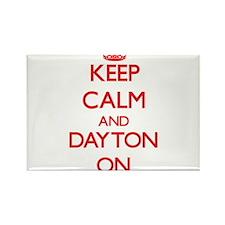 Keep Calm and Dayton ON Magnets