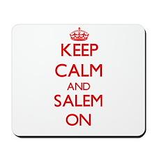 Keep Calm and Salem ON Mousepad