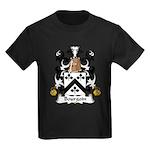 Bourgoin Family Crest Kids Dark T-Shirt