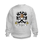 Bourgoin Family Crest Kids Sweatshirt