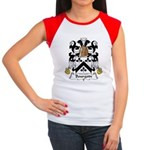 Bourgoin Family Crest Women's Cap Sleeve T-Shirt