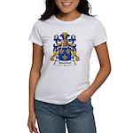 Bourbon Family Crest Women's T-Shirt