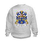 Bourbon Family Crest Kids Sweatshirt