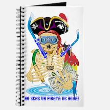 No Seas Un Pirata De Agua! Journal