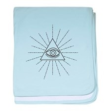 All Seeing Eye Of Providence Symbol Freemason baby