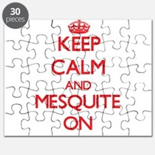 Keep Calm and Mesquite ON Puzzle
