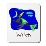 Kid Art Witch Mousepad