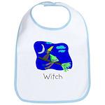 Kid Art Witch Bib