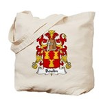 Boulin Family Crest Tote Bag
