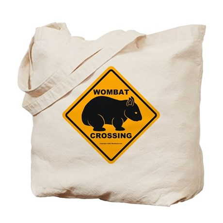Wombat Crossing Tote Bag