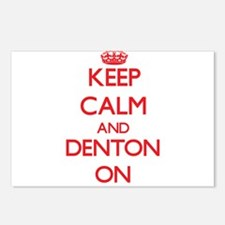 Keep Calm and Denton ON Postcards (Package of 8)