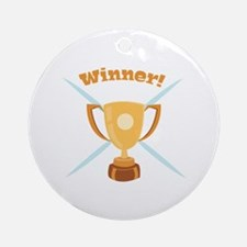 Winner Ornament (Round)