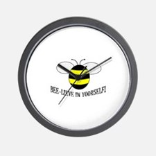BEE-LIEVE IN YOURSELF! Wall Clock