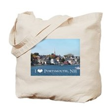 Cute Portsmouth nh Tote Bag