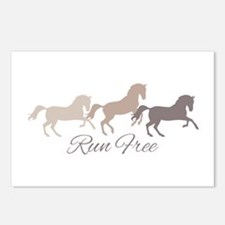 Wild Horses Running Free Postcards (Package of 8)