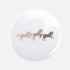 "Wild Horses Running 3.5"" Button (100 pack)"