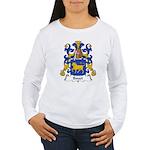 Bouet Family Crest Women's Long Sleeve T-Shirt