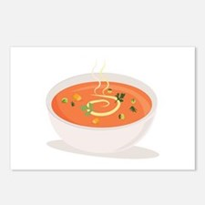 Bowl Of Soup Postcards (Package of 8)