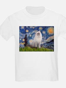 Starry Night Ragdoll T-Shirt