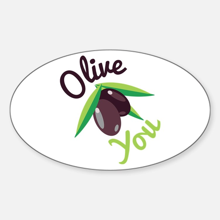 Olive You Decal