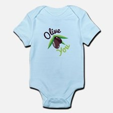 Olive You Body Suit