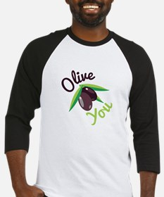 Olive You Baseball Jersey