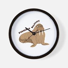 Preserve Wildlife Wall Clock