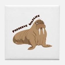 Preserve Wildlife Tile Coaster