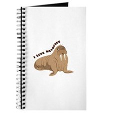 Love Walruses Journal
