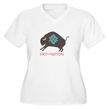 First Nations Plus Size T-Shirt