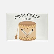 Native American Tribal Drum Circle Magnets