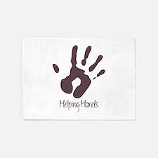Helping Hands 5'x7'Area Rug