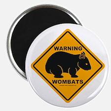 Wombat Warning Magnet