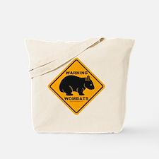 Wombat Warning Tote Bag
