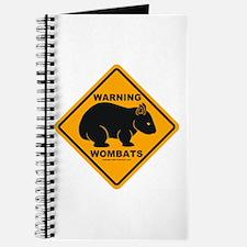 Wombat Warning Journal