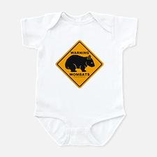 Wombat Warning Infant Bodysuit