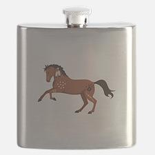 Native American War Horse Flask