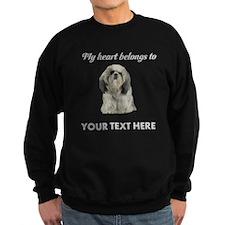 Personalized Shih Tzu Sweatshirt (dark)