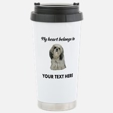 Personalized Shih Tzu Stainless Steel Travel Mug