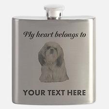 Personalized Shih Tzu Flask