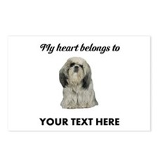 Personalized Shih Tzu Postcards (Package of 8)