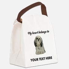Personalized Shih Tzu Canvas Lunch Bag