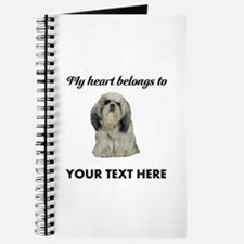 Personalized Shih Tzu Journal