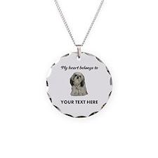 Personalized Shih Tzu Necklace