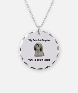 Personalized Shih Tzu Necklace